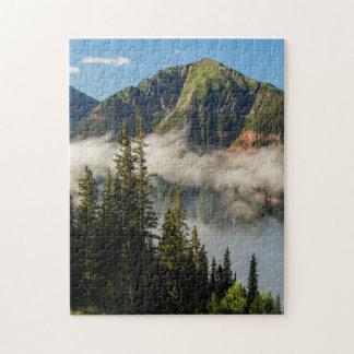 USA, Colorado, San Juan Mountains. Clearing Jigsaw Puzzles