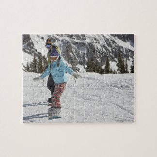 USA, Colorado, Telluride, Father and daughter 2 Jigsaw Puzzles