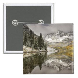 USA, Colorado, White River National Forest, Pinback Button