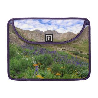 USA, Colorado. Wildflowers In American Basin Sleeve For MacBooks