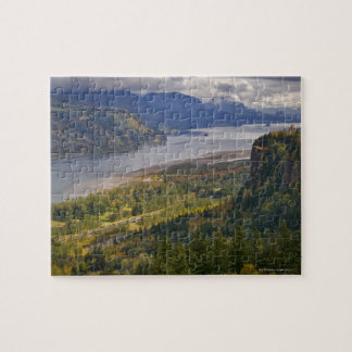 USA, Columbia River Gorge Jigsaw Puzzles