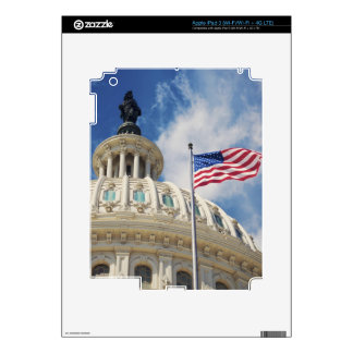 USA, Columbia, Washington DC, Capitol Building iPad 3 Skins