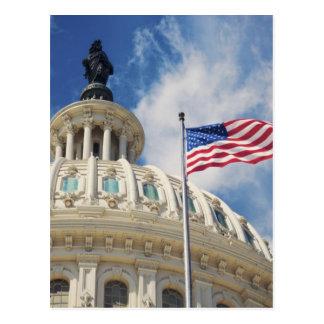USA, Columbia, Washington DC, Capitol Building Postcard