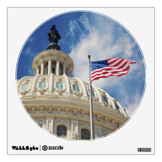 USA, Columbia, Washington DC, Capitol Building Wall Sticker