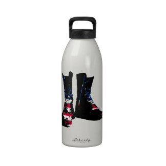USA Combat Boots Drinking Bottle