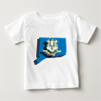 USA: Connecticut (3d) Baby T-Shirt