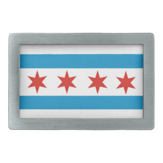 usa country city town chicago flag belt buckle