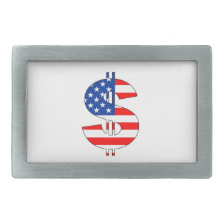 usa country money currency dollar symbol belt buckle