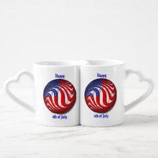 USA COUPLES' COFFEE MUG SET