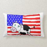 USA Cow American MoJo Pillows