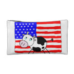 USA Cow Bagettes Bag Cosmetic Bag