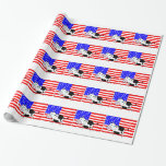 USA Cow Wrapping Paper