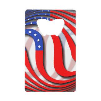 USA CREDIT CARD BOTTLE OPENER