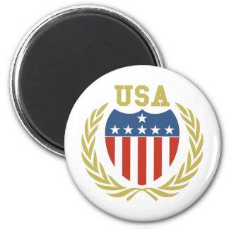 USA Crest Magnet