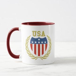 USA Crest Mug