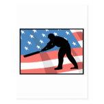USA Cricket Postcard