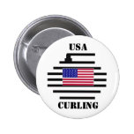 USA Curling 2010 Button