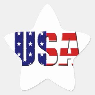 USA Custom Logo Design Stickers