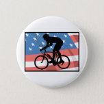 USA Cycling Pinback Button