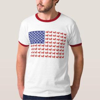 USA Dachshund T-Shirt