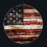 "USA DARTBOARD<br><div class=""desc"">Grunge USA flag</div>"