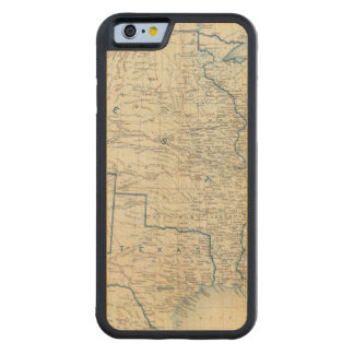 USA Dec 1860 Carved Maple iPhone 6 Bumper Case