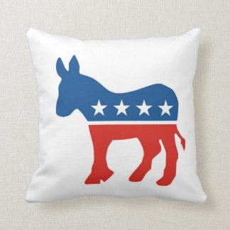 usa democratic party donkey pillow united states