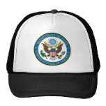 USA Department of state seal Trucker Hats