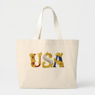 USA Design Canvas Bag