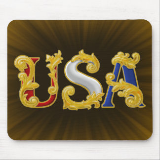 USA Design Mouse Pad