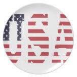 USA Design Plates