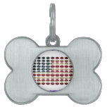 USA DIRTY FLAG PRODUCTS PET NAME TAGS