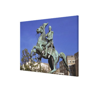 USA, District of Columbia. The triumphant, Canvas Print