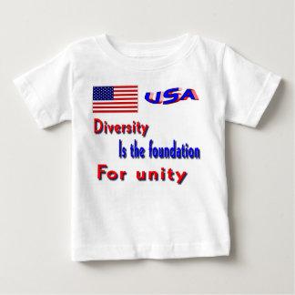 USA diversity t-shirts