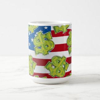 USA Dollar Coffee Mug