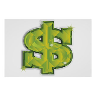 USA Dollar Poster