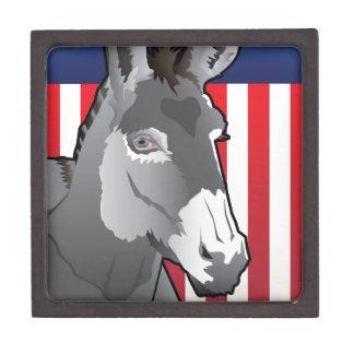 USA Donkey, Democrat Pride Gift Box