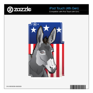 USA Donkey, Democrat Pride iPod Touch 4G Skin