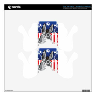 USA Donkey, Democrat Pride Skins For PS3 Controllers