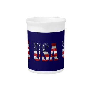 USA DRINK PITCHER