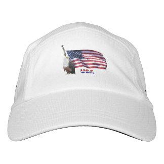 USA Eagle And Flag Headsweats Hat