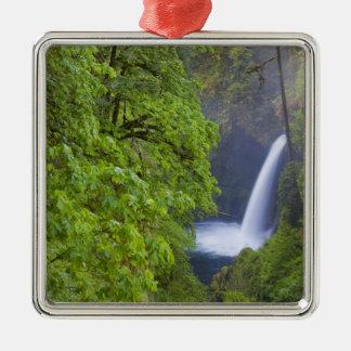 USA, Eagle Creek, Columbia Gorge, Oregon. 2 Christmas Ornament