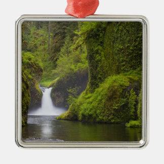USA, Eagle Creek, Columbia Gorge, Oregon. 3 Ornament