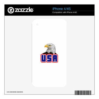 USA Eagle iPhone 4 Decal