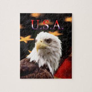 USA Eagle jigsaw puzzle