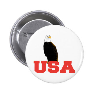 USA Eagle Pinback Buttons
