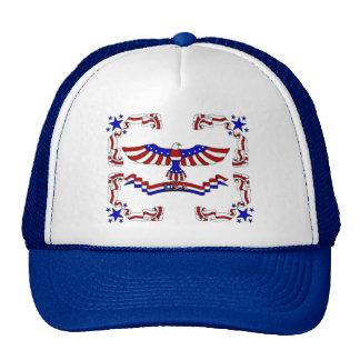 USA Eagle Trucker Hat