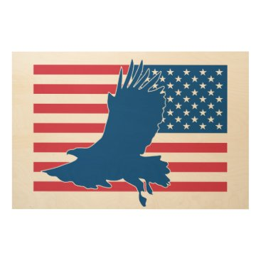 USA Themed USA eagle Wood Wall Decor
