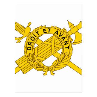 USA El Joint Military Medical Command Postcard