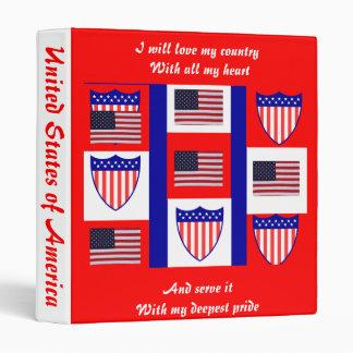 Usa election  binders